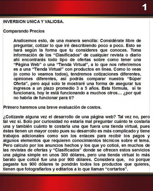 Inversion Unica 1